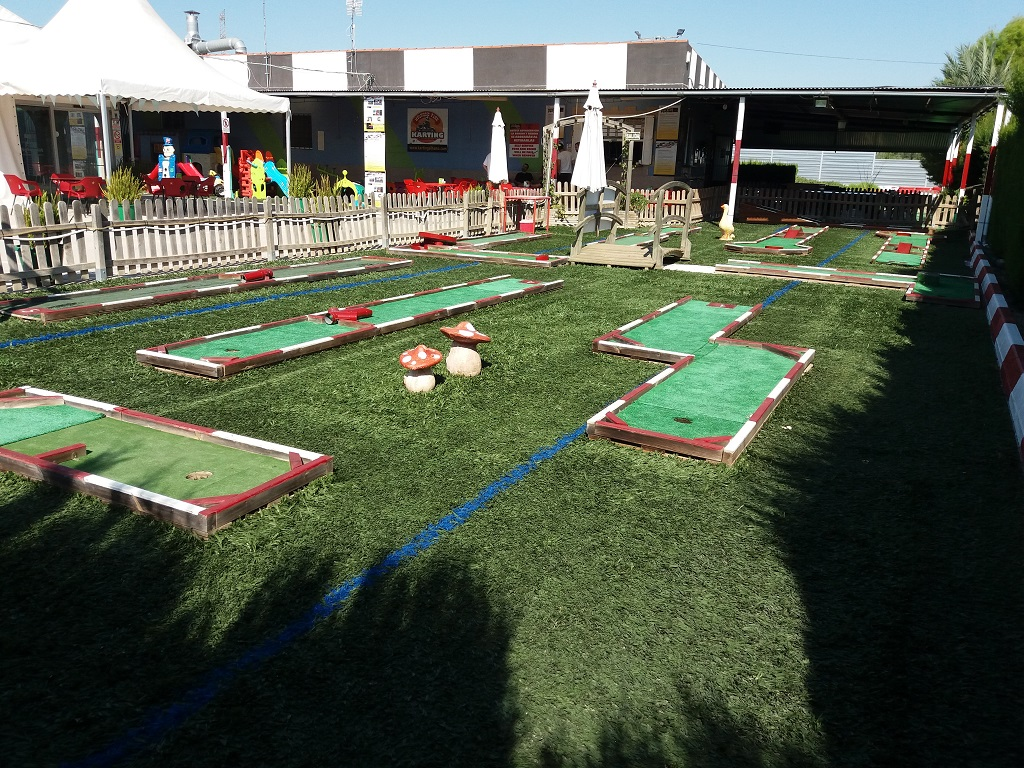 karting alhama - mini-golf en murcia